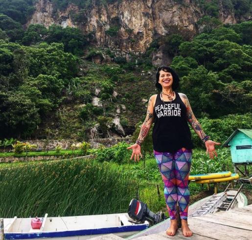 sinclair fleetwood medicine woman yoga teacher psychedelic integration coach retreat facilitator plant medicine