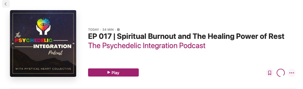 Spiritual Burnout The Haling Power of Rest Psychedelics Austin Psychedelics Texas